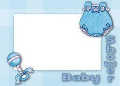 Bordes para tarjetas baby shower gratis (8)