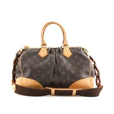Louis Vuitton Monogram Canvas Stephen Bag w Strap
