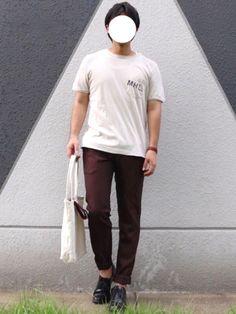 久々更新。 モチベーションが «size» shirt : L pants : M shoe