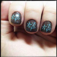 Nail stamping! Inexpensive manicures at home!