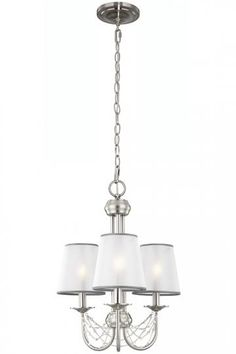 Aveline Mini Chandelier - Mini Chandelier - Traditional Chandeliers - Elegant Chandeliers - Dining Room Chandeliers - Ceiling Light Fixtures | HomeDecorators.com