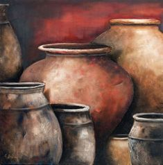 How about a jar for every lost soul Painting Still Life, Still Life Art, Naive Art, Beautiful Paintings, African Art, Painting Inspiration, Painting & Drawing, Watercolor Paintings, Modern Art