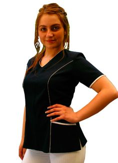 Chaqueta Clinica Athletic, Zip, Jackets, Design, Fashion, Scrubs Uniform, Greek, Aprons, Totes