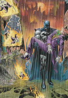 Batman and The Joker by Andy Kubert