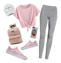 """🎶"" by mirka-smalova on Polyvore featuring Treasure & Bond and Vans"