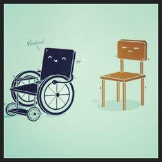 Wheel chair joke!