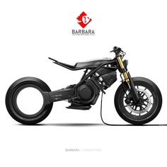 Incredible #Electricmotorcycle #concept by #evnerds from France @barbara.motorcycles . .  #bike #biker #superbike #motocicleta #electric… Motorcycle Types, Bobber Motorcycle, Motorcycle Design, Bicycle Design, Concept Motorcycles, Custom Motorcycles, Custom Bikes, Custom Choppers, New Electric Bike