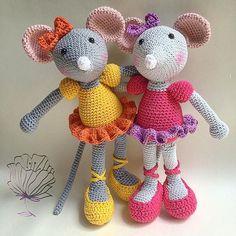 #crochet #haken #häkeln #handmade #madewithlove #madebyme #crochetlove #crochetaddict #zelfgemaakt #zelfgehaakt #hakenisleuk #hakeniship #amigurumi #amigurumimouse #mouse #ballerina #friends #girly #sweet cute #lilleliis