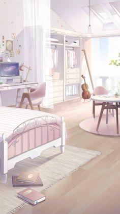 Episode Interactive Backgrounds, Episode Backgrounds, Anime Backgrounds Wallpapers, Anime Scenery Wallpaper, Pastel Wallpaper, Pretty Wallpapers, Anime Places, Living Room Background, Japon Illustration