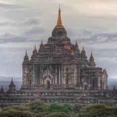 """Now that's a """"wow"""" moment. The Thatbyinnyu Temple in Bagan, Myanmar.  Photo courtesy of harima on Instagram."""