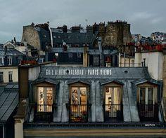 Assim é o meu Paris. Construído de janelas. Quase agardo me ver a mim mesmo ou às amigas de lá a aparecer em estas imagens... Gail Albert Halaban - Paris Views