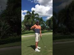 Shoulder turn in golf - YouTube
