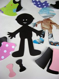"Magnetic ""Paper Dolls"""
