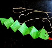 Paper Snake Craft | Munchkins and Mayhem