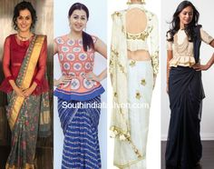 Peplum is trending in the western world, then why not bring over the traditional side too? Here are the peplum blouse designs for your saree! Peplum Blouse, Long Blouse, Peplum Jacket, Designer Blouse Patterns, India Fashion, Women's Fashion, Saree Styles, Saree Blouse Designs, Indian Designer Wear
