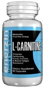 Enerzin L-CARNITINE - 90 Capsules 500mg Metabolize Food Into Energy by ENERZIN. $13.00. L-CARNITINE  Metabolize Food Into Energy. L-carnitine transfers long-chain fatty acids, such as triglycerides into mitochondria (a cell's energy powerhouse), where they may be oxidized to produce energy. L-carnitine is a very popular supplement that promotes growth and development. It is also used for fat-burning, increasing energy, and improving resistance to muscle fatigue. L-carnitine ...