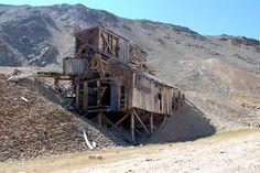 North London mine near Mosquito Pass, Colorado