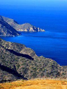 Eco-tour the waters off Santa Catalina: Catalina Island. Photo by tinyfroglet