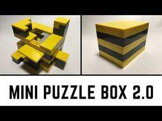Mini LEGO Puzzle Box - Another LEGO Puzzle Idea - YouTube