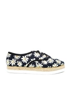 ASOS JINGLE ALL THE WAY Lace Up Espadrilles
