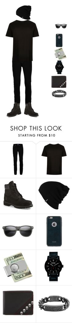 """""""me"""" by dorienward ❤ liked on Polyvore featuring Wood Wood, River Island, Timberland, Patagonia, ZeroUV, Moshi, American Coin Treasures, Nixon, Robert Graham and Diesel"""