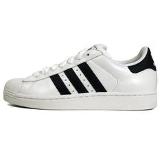 Adidas Originals | Superstar II White Navy Blue Shoe G17070 ($79) ❤ liked on Polyvore featuring shoes, sneakers, adidas, trainers, navy and white shoes, adidas originals, navy white shoes, adidas originals trainers and blue shoes