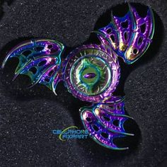 Unique Devil Eye Hand Spinner Dragon 3 Wings EDC Fidget Focus Toy Anxiety