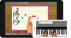 Hoffman Academy interface on tablet and smartphone. Online lessons, free, Costco magazine