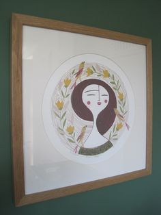 Oak frame-print-Lisa Stubbs-Autumn Thoughts