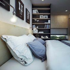 Cận cảnh căn hộ chung cư chỉ 48m2 nhưng tận dụng hiệu quả từng cm diện tích