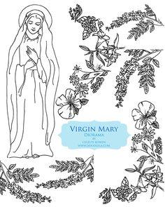 Mary Diorama - Catholic Sistas
