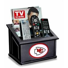 Take your remote controls out of the sofa cushions and put them into the Fan Creations NFL Media Organizer . This handy organizer is ideal for all of. Denver Broncos, Pittsburgh Steelers, Dallas Cowboys, Seattle Seahawks, Steelers Gear, San Francisco 49ers, Chicago Bulls, Remote Caddy, Shopping