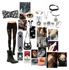 """Million Miles Away - The Offspring"" by leia-albin ❤ liked on Polyvore featuring Tripp, Gypsy Warrior, Pamela Love, Nails Inc., Casetify, PhunkeeTree, Equipment, Forever 21, Marc by Marc Jacobs and Zippo"