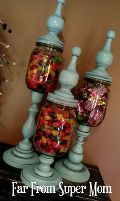 Far from Super Mom: Apothecary Jars