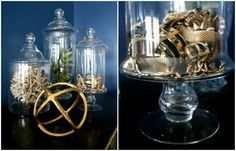 Use my glass jars to organize my jewelry or other fun things.