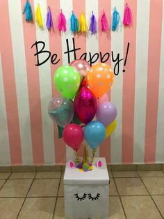 Diy gift idea for friends colourful unicorn balloons Birthday Goals, Cute Birthday Gift, Birthday Diy, Birthday Party Themes, Presents For Best Friends, Birthday Gifts For Best Friend, Best Friend Gifts, Unicorn Party, Unicorn Birthday