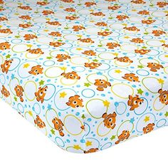 Disney Baby Finding Nemo Fitted Crib Sheet - A Day at The... https://www.amazon.com/dp/B01M2A52QK/ref=cm_sw_r_pi_dp_x_kZhxzbPFGSKGR