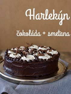Harlekýn Tiramisu, Food And Drink, Cooking Recipes, Pudding, Sweets, Baking, Desserts, Chocolate Cakes, Tarts