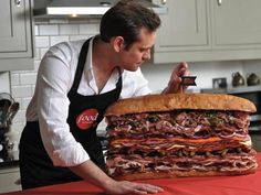 The World's Biggest, Meatiest Sandwich