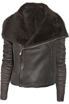 Classic shearling jacket by Rick Owens
