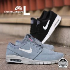 #nikesb #stefanjanoski Stefanjanskimax #airmax #sneakerbaas #baasbovenbaas  Nike SB Stefan Janoski Max L - Available online now, priced at € 119,95  For more info about your order please send an e-mail to webshop #sneakerbaas.com!