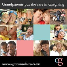 Grandparents put the care in caregiver #grandparents