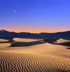 Death Valley National Park - Summer Solstice solitude at Dusk.