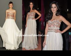 Love this beautiful Marchesa Gown on Katrina Kaif
