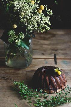 Cheesecake čokoládová bábovka