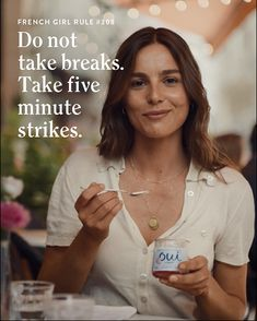 Say Oui to a moment all for yourself. Say Oui to Oui by Yoplait.