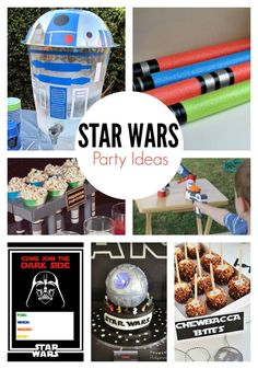 Need to plan an amazing party? These Star Wars party ideas are sure to wow all your Star Wars lovers. From games to Star Wars food you will love the Star Wars themed party ideas.