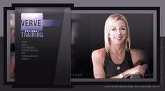 Website designed and developed for Verve personal training