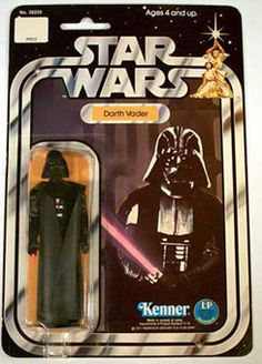 Vintage Star Wars Darth Vader Action Figure