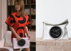 """Uhm Jung Hwa in """"Witch's Romance"""" Episode 11.  Celine Spring 2014 Soft Lambskin Eyelet Pouch #Kdrama #WitchsRomance #마녀의연애 #UhmJungHwa #엄정화 Witch's Romance, Uhm Jung Hwa, Korean Drama, Dramas, Shoulder Dress, Bags, Clothes, Dresses, Style"""